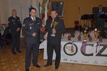 Nejlepší zahraniční člen IPA ve střelbě zeSa vz.58 + Pi CZ 75 • kpt. Mgr. Peter